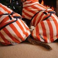 Dog Drying Coat - Orange